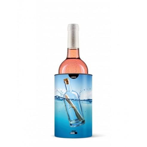 """Seau refroidisseur à bouteille """" la bouteille a la mer""""  LaBoul®"""