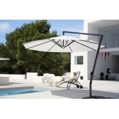 Parasol excentré avec manivelle Amalfi - CARAVITA