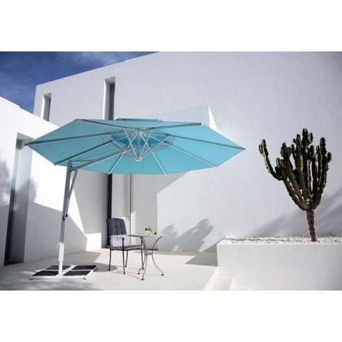 parasol excentr confort jardin. Black Bedroom Furniture Sets. Home Design Ideas