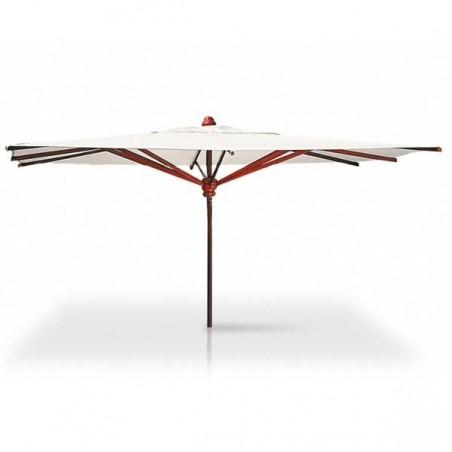 Parasol rectangulaire 3 x 4 m - ACAJOU - VLAEMYNCK - Confort Jardin - Les Issambres