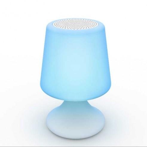 Lampe-enceinte Bluetooth® sans fil  HANDY - LIGHT & SOUNDS - Confort Jardin - Les Issambres