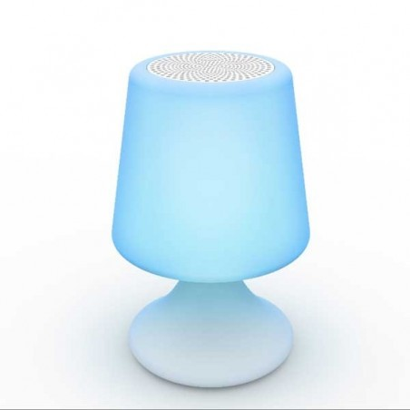 Lampe-enceinte Bluetooth® sans fil  HANDY - LIGHT & SOUNDS - Confort Jardin - Les Issambres