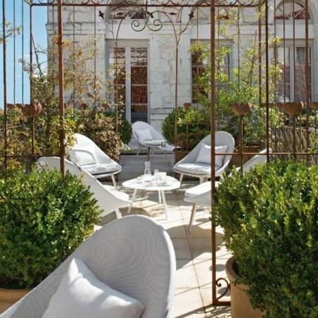 Fauteuil bas - VANITY - VLAEMYNCK - Confort Jardin - Les Issambres