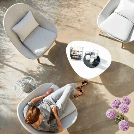 Fauteuil bas - VANITY - VLAEMYNCK - Confort Jardin - Les Issambres