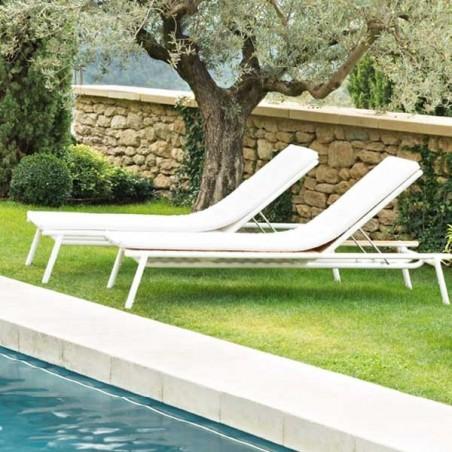 Bain de soleil - PILOTIS - VLAEMYNCK - Confort Jardin - Les Issambres