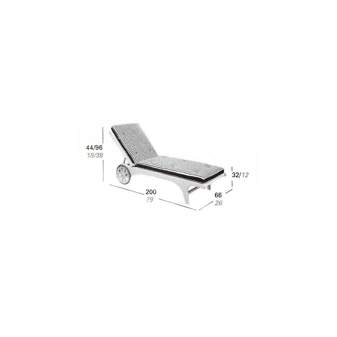 coussin triconfort Coussins compatibles bain de soleil Riviera MT205   TRICONFORT coussin triconfort