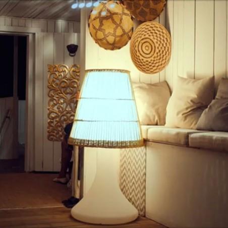 Lampe-enceinte Bluetooth® sans fil  HANDY LARGE - LIGHT & SOUNDS - Confort Jardin - Les Issambres