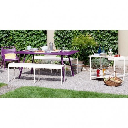 Table 165 x 100 cm Luxembourg - FERMOB - Confort Jardin - Les Issambres