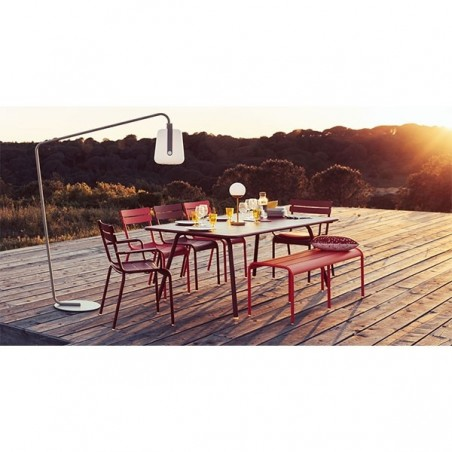 Table rectangulaire 207 x 100 cm Luxembourg - FERMOB - Confort Jardin - Les Issambres
