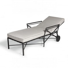 Chaise longue - collection 1950 Triconfort  - Confort Jardin - Les Issambres