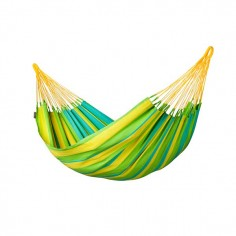 LA SIESTA® Sonrisa Lime - Hamac classique simple outdoor