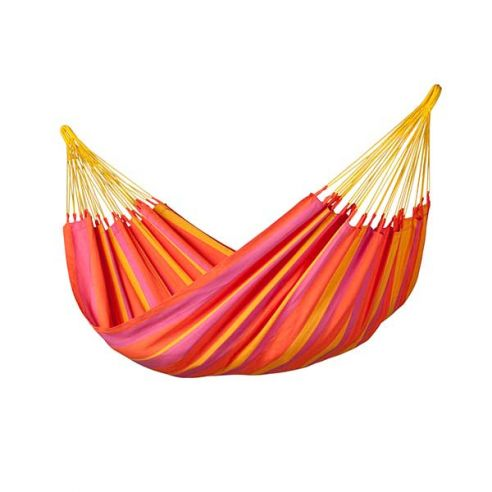 LA SIESTA® Sonrisa Mandarine - Hamac classique simple outdoor