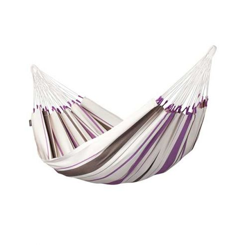 LA SIESTA® Caribeña Purple - Hamac classique simple en coton