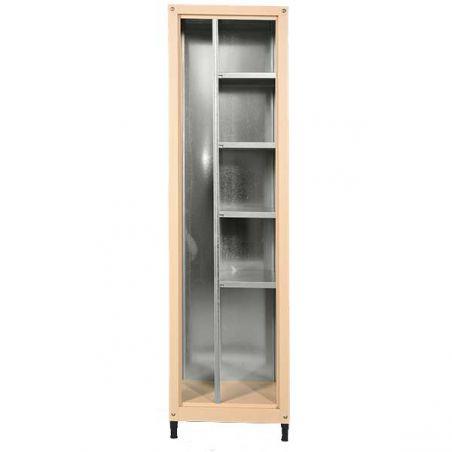 Armoire métallique pour balcon et jardin 185/50 cm