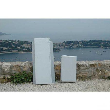Armoire métallique pour balcon et jardin 90/70 cm