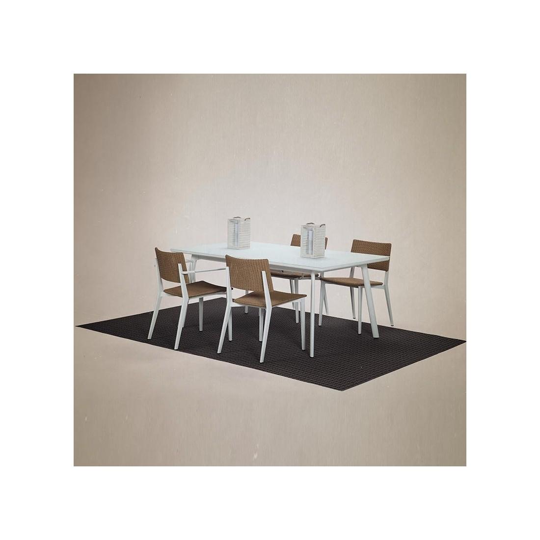 Chaise repas empilable de la collection pour le jardin for Chaise kettler blanche