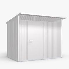 Abri de jardin AVANTGARDE - 260 x 220 cm - porte standard - BIOHORT