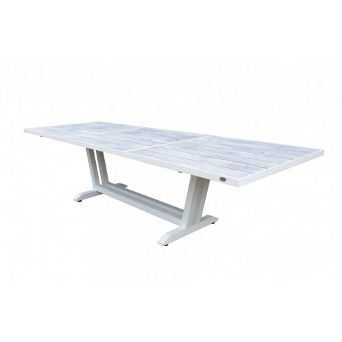 Table extensible AMAKA - 170/230 x 90 cm - béton ciré - LES JARDINS