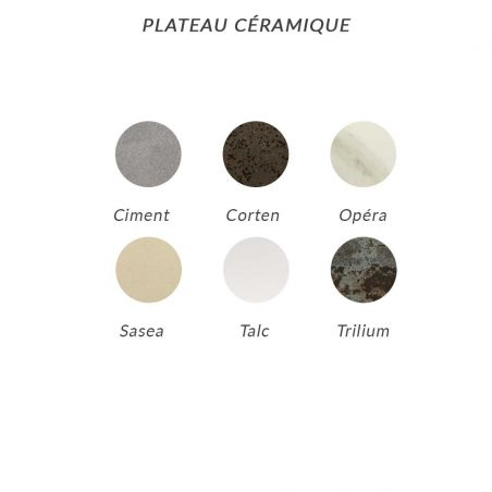 Table MARUMI small - plateau céramique - EGO