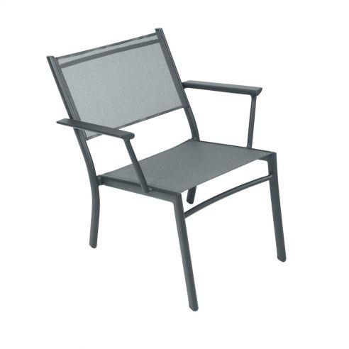 Bridge - fauteuil empilable - COSTA - assise toile - FERMOB