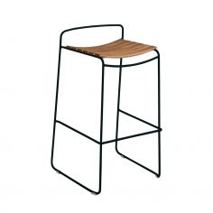 Tabouret de bar en teck - SURPRISING - FERMOB