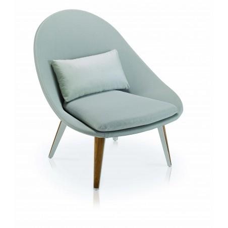 Ensemble repos Vanity, 4 fauteuils et 1 table basse Vlaemynck