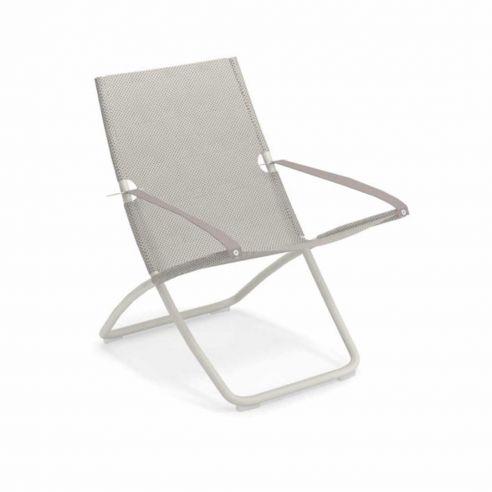 Chaise longue SNOOZE - blanc mat - glace - EMU