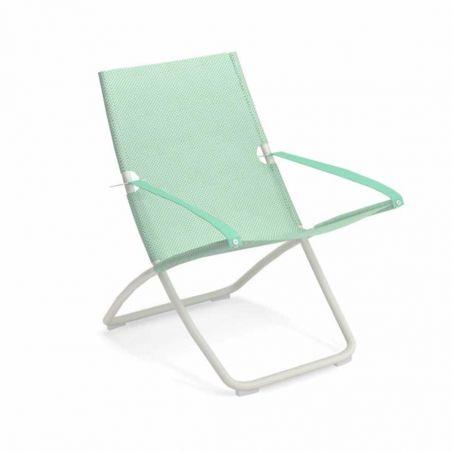 Chaise longue SNOOZE - blanc opaque - Citronnelle - EMU