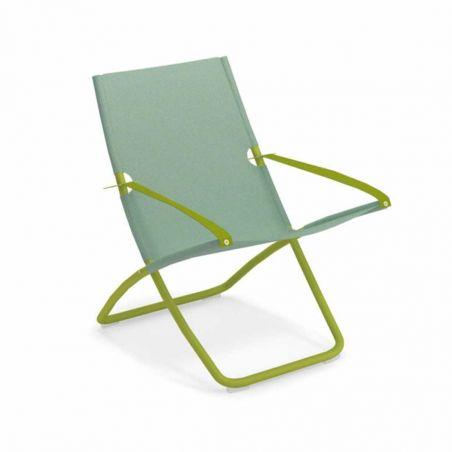 Chaise longue SNOOZE - vert - menthe - EMU