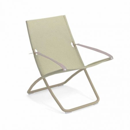 Chaise longue SNOOZE - tourterelle - Beige - EMU