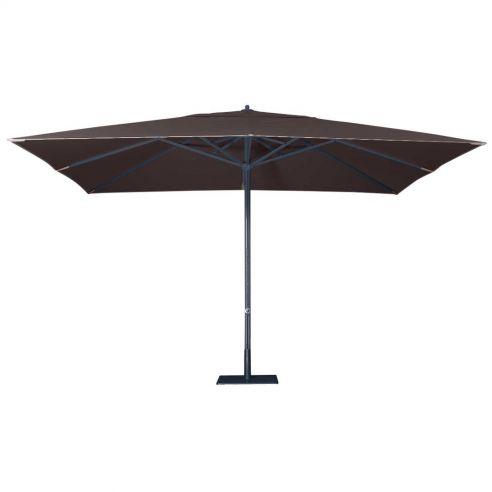 Parasol Easy Track - 400 x 300 cm - mât anthracite - Vlaemynck