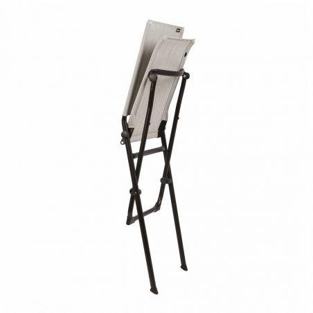 Chaise pliante ANYTIME - Batyline Duo - Galet - LAFUMA