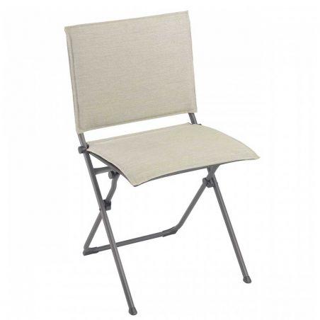 Chaise pliante ANYTIME - Hedona - Latté- LAFUMA