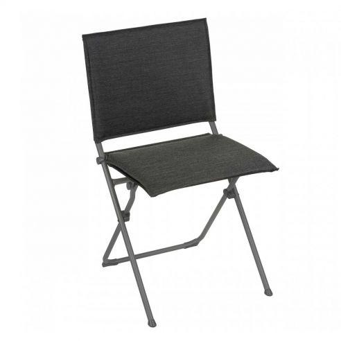 Chaise pliante ANYTIME - Hedona - Onyx - LAFUMA